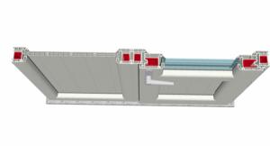 Highline 70 Kasa Sabiti ve Kapı Uygulaması Bağ Profili ile Bağlantısı